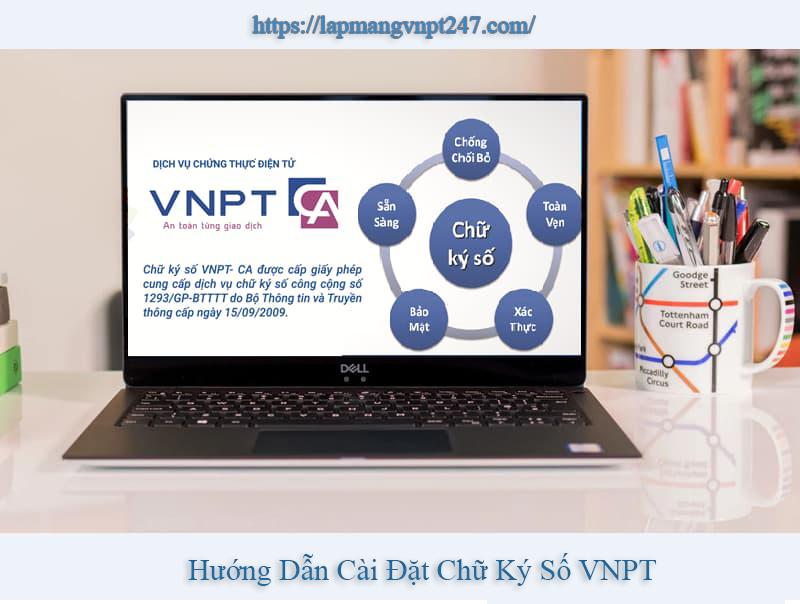 hướng dẫn cài đặt chữ ký số VNPT