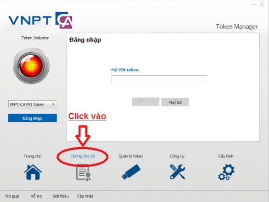 Hướng dẫn sử dụng chữ ký số xem chứng thư số VNPT - CA