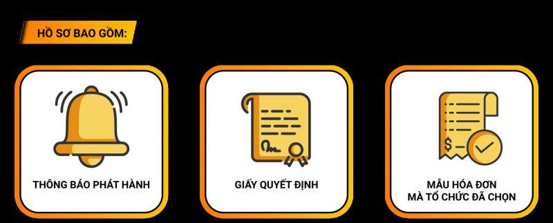 Bộ hồ sơ để thông báo phát hành hóa đơn điện tử
