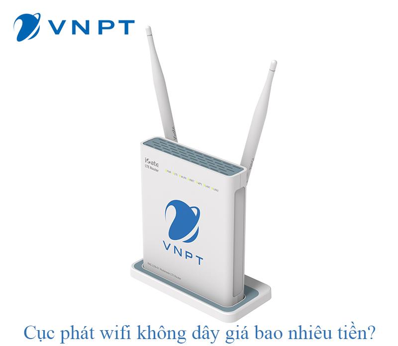 Cục phát wifi không dây giá bao nhiêu tiền